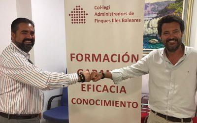 Ampliación del acuerdo de colaboración entre CAF Baleares y Conversia